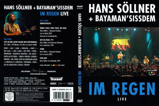 Hans Söllner & Bayaman Sissdem - Im Regen - DVD Cover