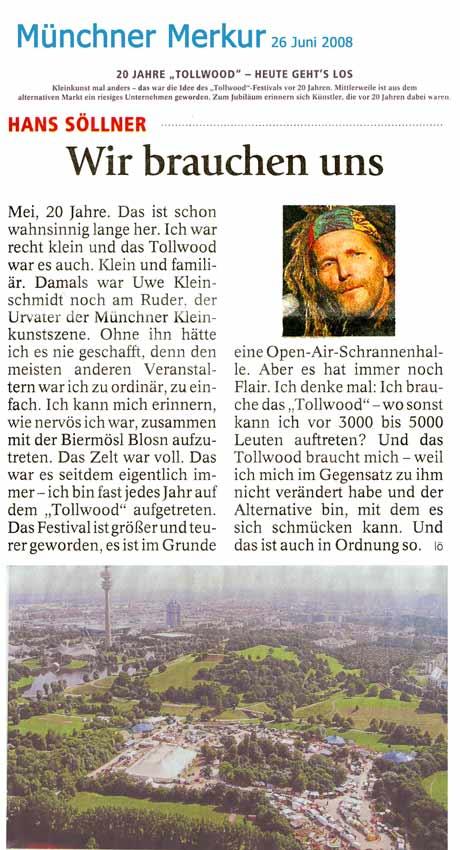 Bericht im Münchner Merkur