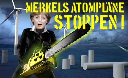 Merkel strahlt weiter