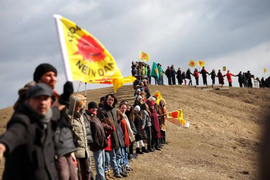 Anti-Atom-Menschenkette
