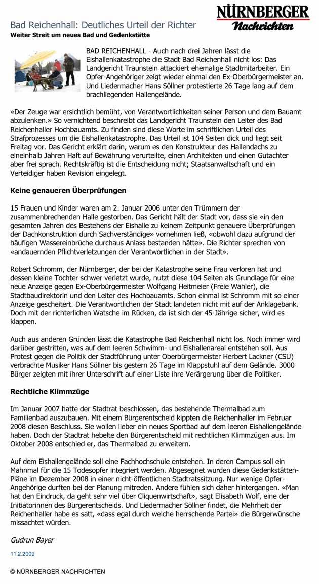 Hans Söllner Sitzblockade