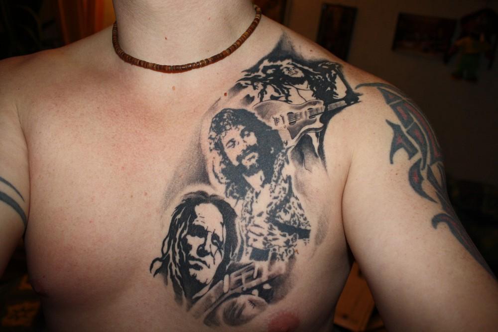 Hans Tattoo Hans Söllner