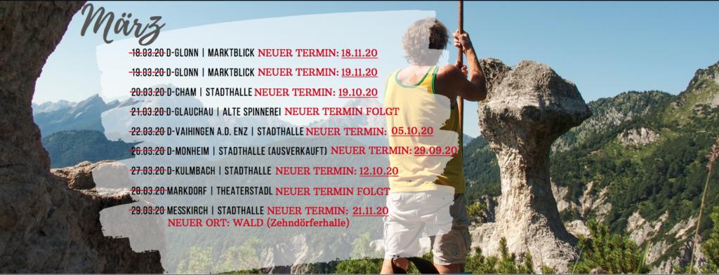 Hans Söllner Konzerte - Aktuelle Terminverschiebungen!